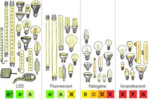 choix d'ampoules